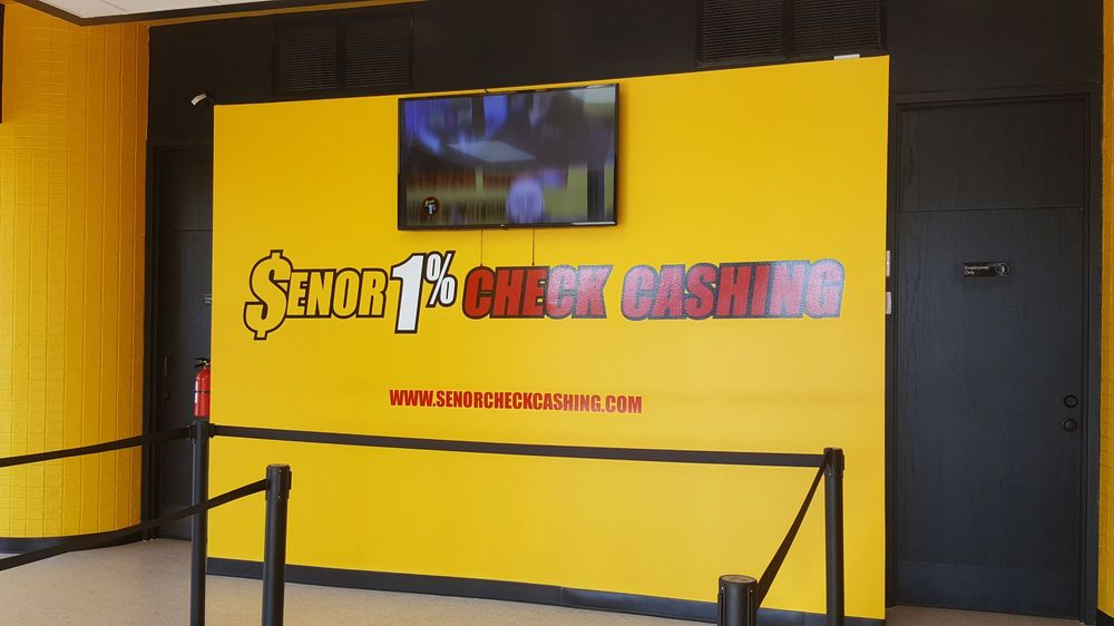Senor 1% Check Cashing