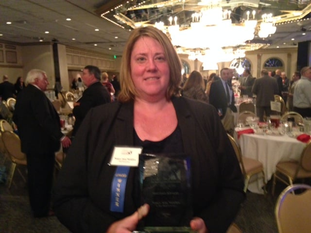 Nancy Nicklow Of Huff Insurance Was Named The Sba Maryland