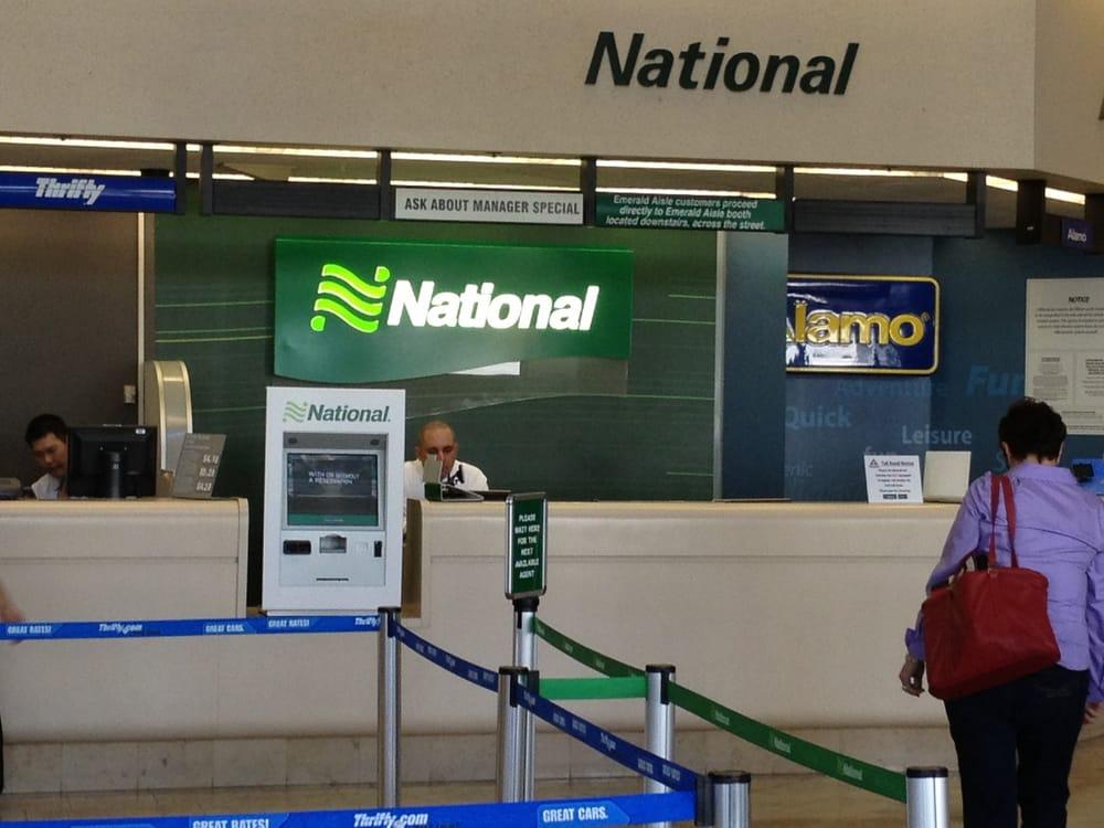 National Car Rental Lax Address