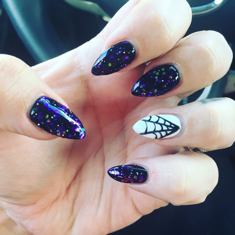 Spooky nails are my thing year round! - Yelp