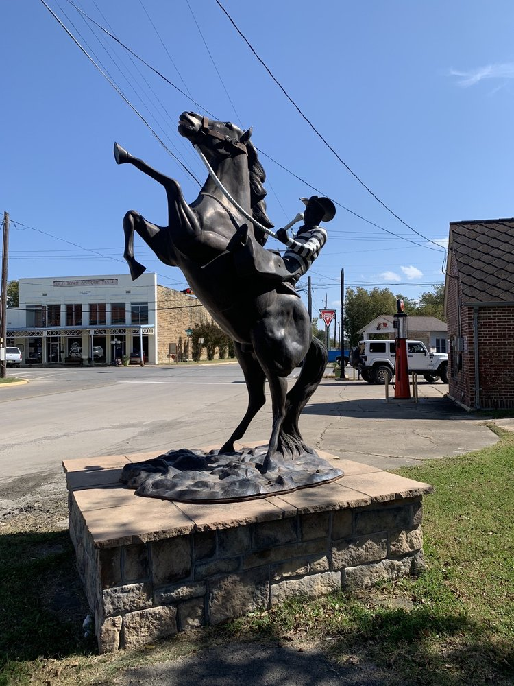 OSP Prison Rodeo Statue: 2657 N Main St, McAlester, OK