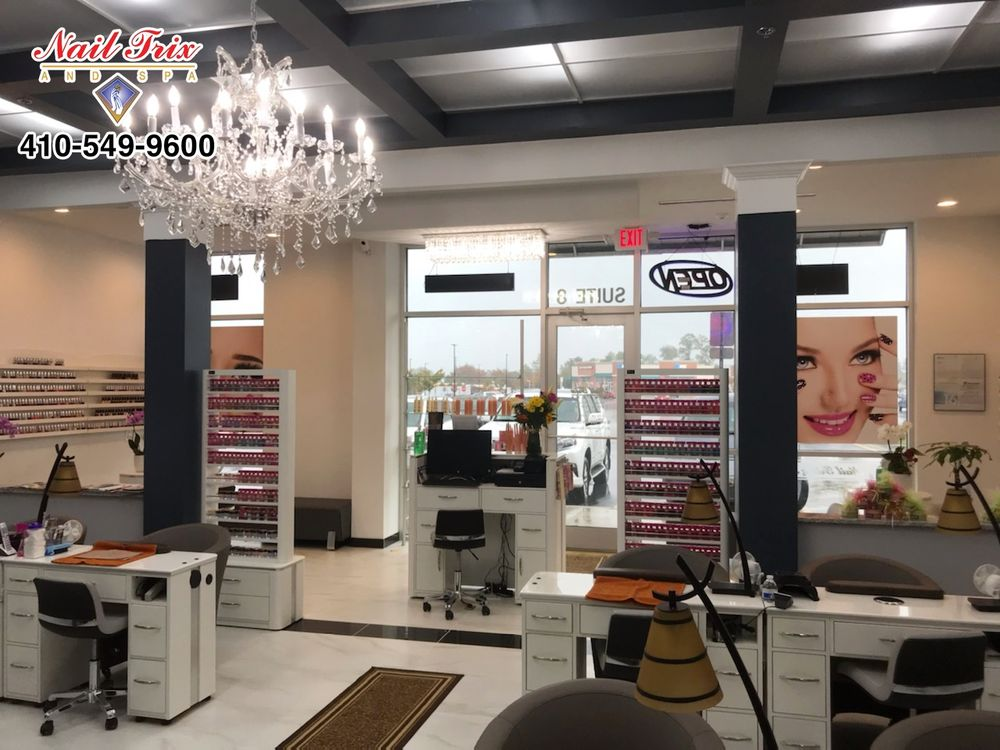 Nail Trix and Spa: 6400 Ridge Rd, Sykesville, MD