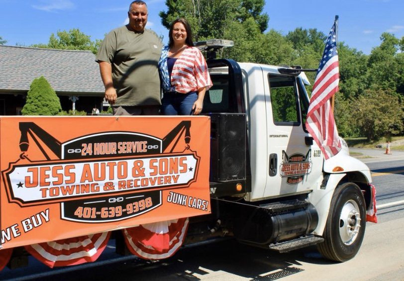 Jess Auto & Sons Towing: 175 Danielson Pike, Foster, RI