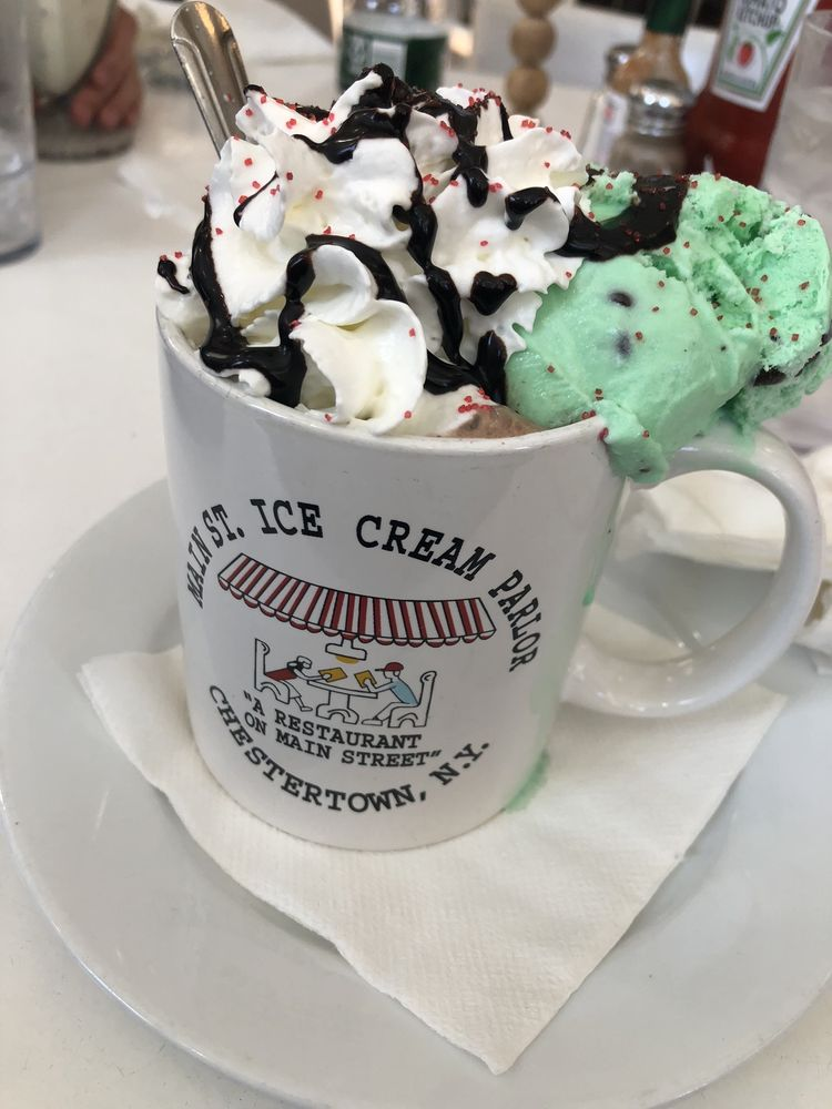 Main Street Ice Cream Parlor: 6339 Main St, Chestertown, NY