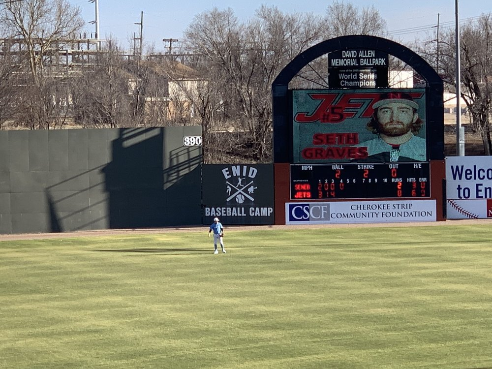 David Allen Memorial Ballpark: 301 S Grand St, Enid, OK