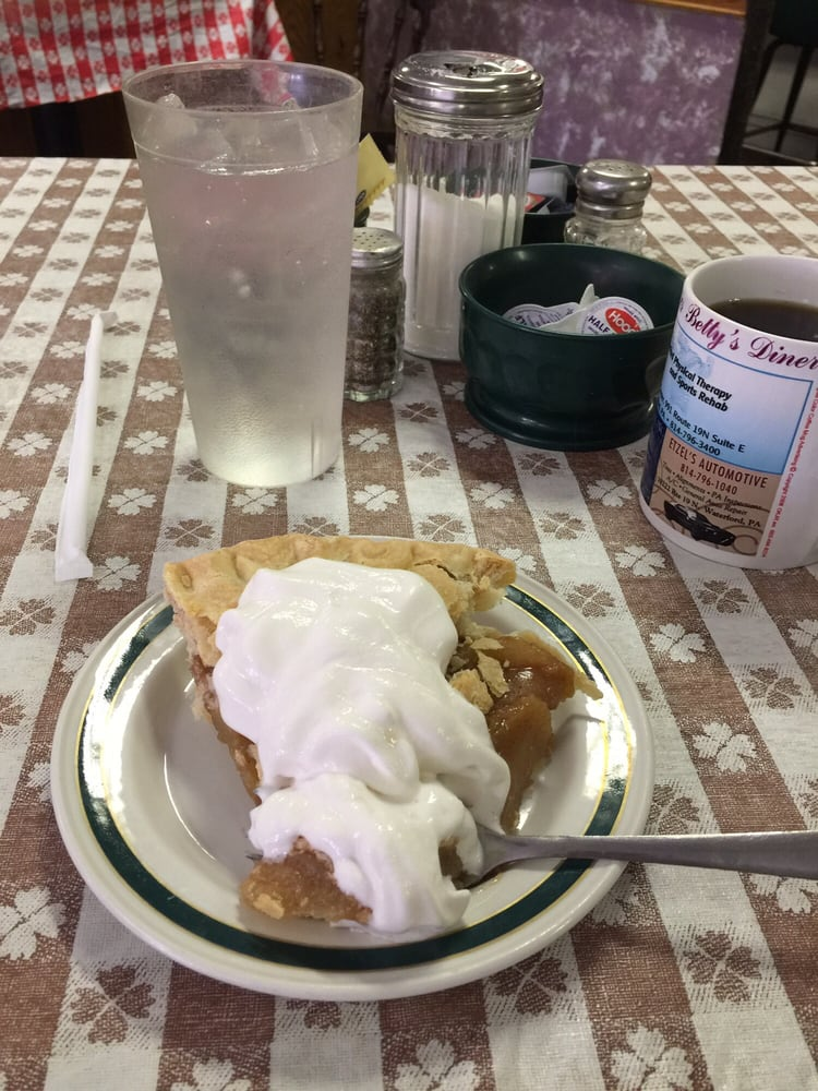 Betty's Diner: 132 High St, Waterford, PA