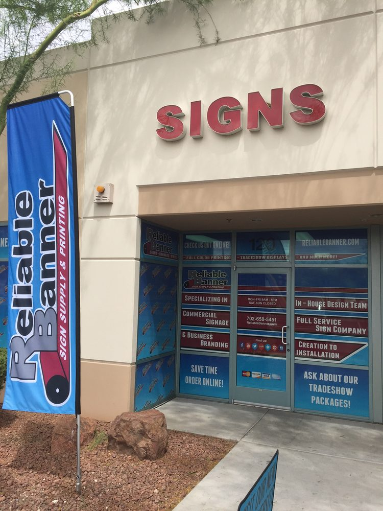 Reliable Banner Sign Supply & Printing