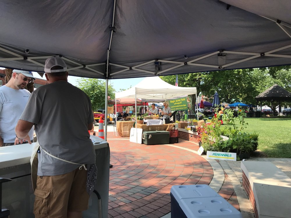 La Grange Farmer's Market & Artisans: 100 W Main St, La Grange, KY