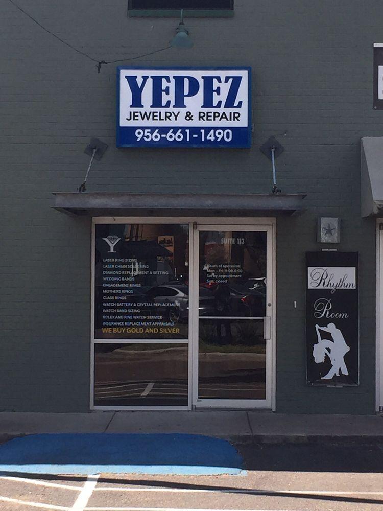 Yepez Jewlry Repair Center: 5401 N 10th St, McAllen, TX