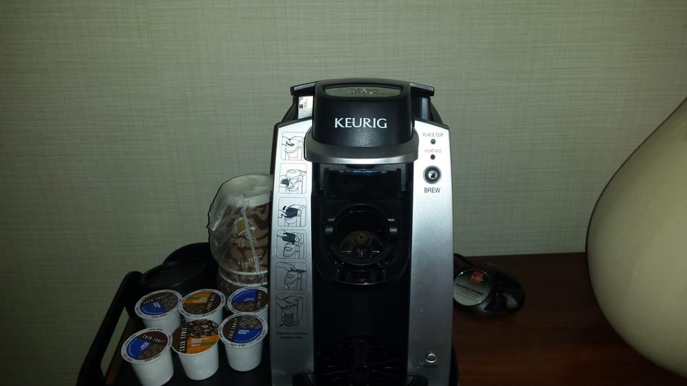 Nice Keurig Coffee Maker- No charge! - Yelp