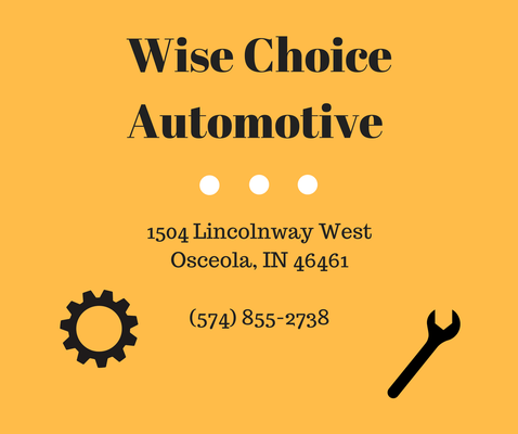 Wise Choice Automotive Auto Repair 1504 Lincolnway W