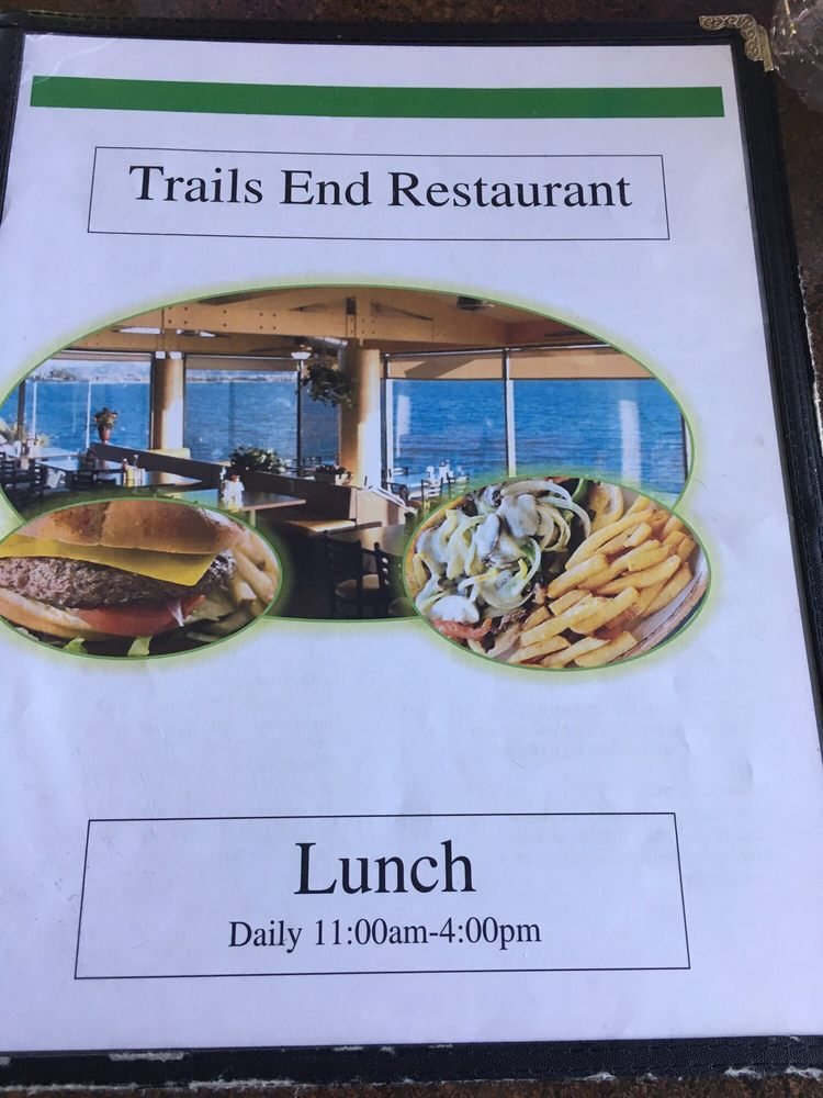 Trails End Restaurant: 10 1st St, Havasu Lake, CA
