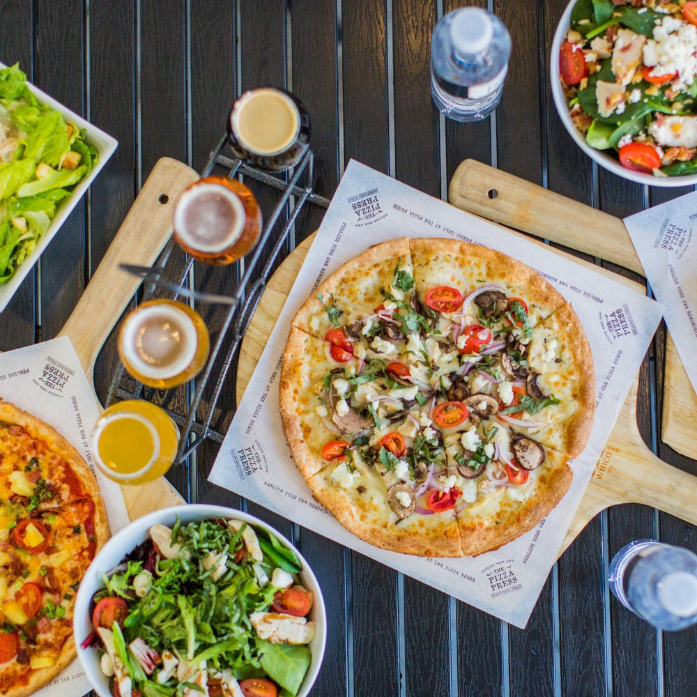 The Pizza Press: 2720 Nutwood Ave, Fullerton, CA