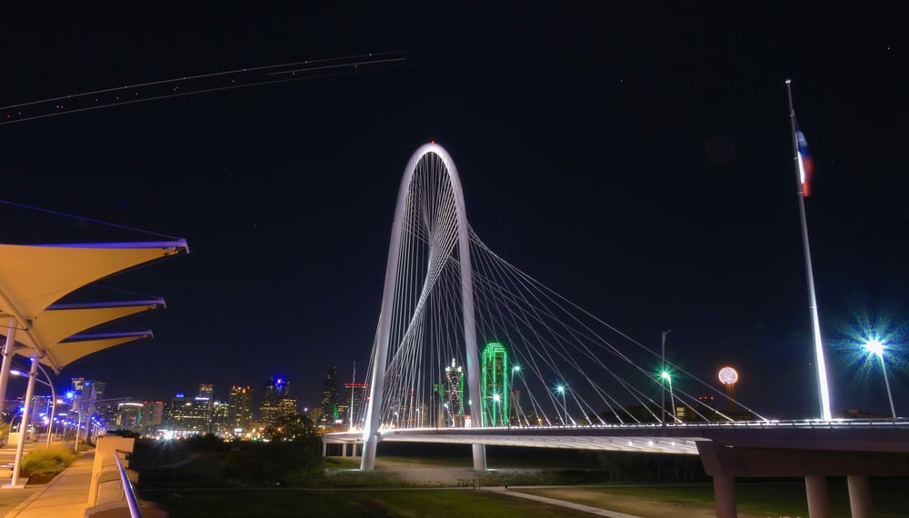 nice view of downtown dallas night lights yelp