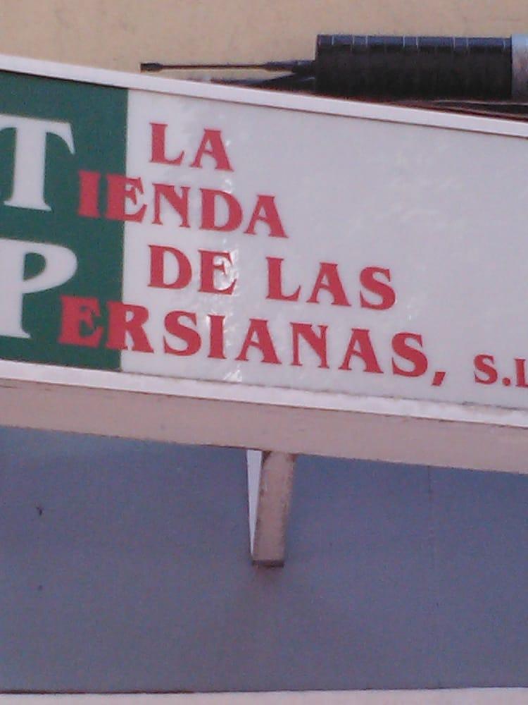 Tienda de las persianas einkaufszentrum calle murcia - Persianas murcia ...
