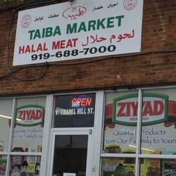 Taiba Halal Market Butcher 1008 W Chapel Hill St Durham Nc