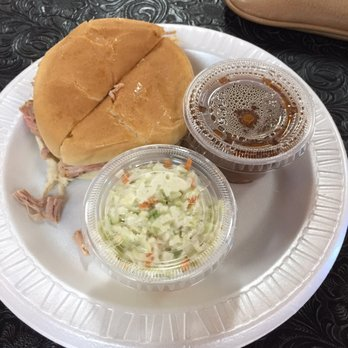 Photo Of Danny S Ponca City Ok United States Pork Roast Sandwich