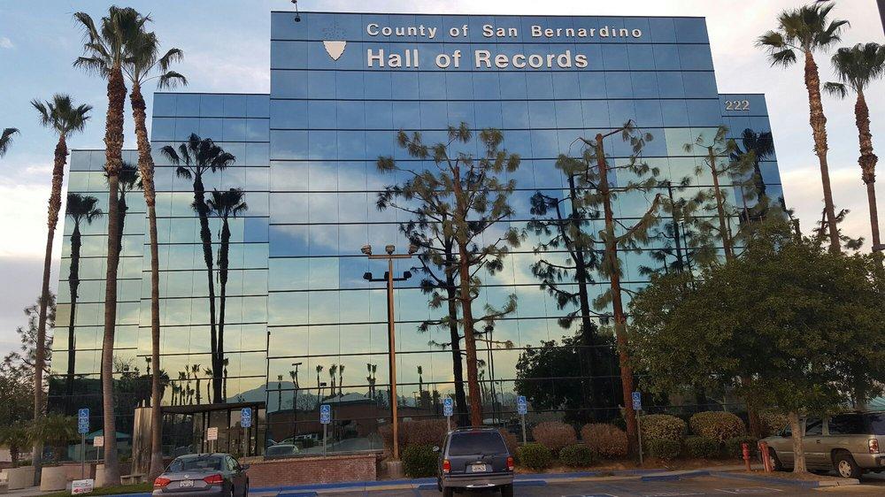 San Bernardino County Hall of Records: 222 W Hospitality Ln, San Bernardino, CA