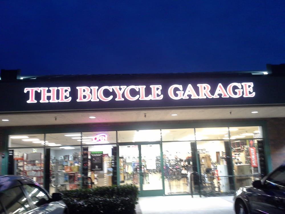 The Bicycle Garage Store Front Mowry East Shopping Center