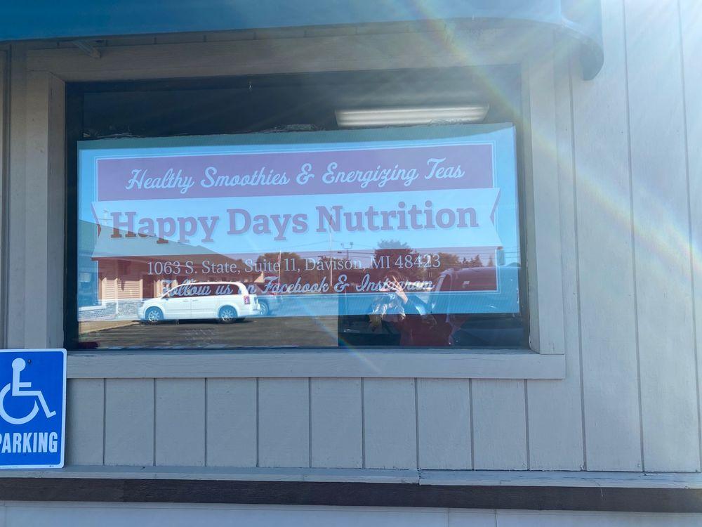 Happy Days Nutrition: 1063 South State Rd, Davison, MI