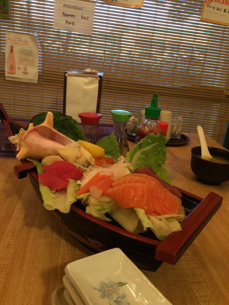 Sashimi Boat Yelp
