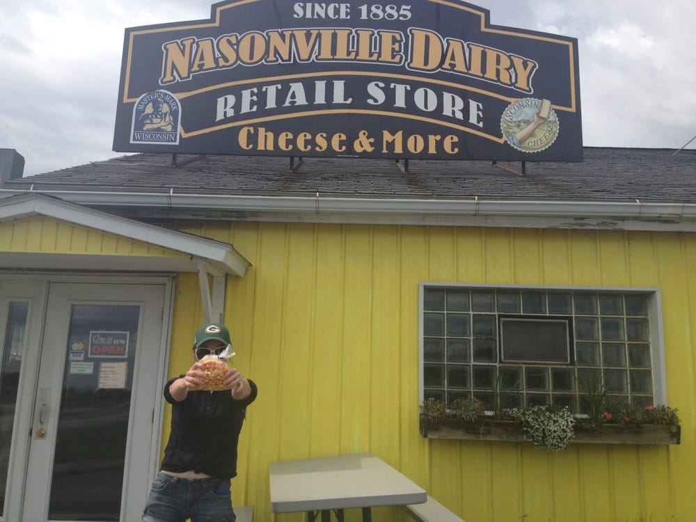 Nasonville Cheese: N14505 Sandhill Ave, Curtiss, WI