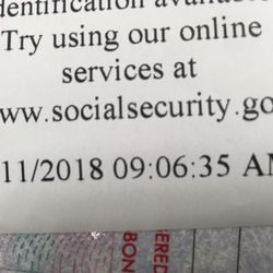 Where do i get a replacement social security card in indianapolis