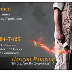 Horizon painting painters 250 cliffhill pl riverside ca photo of horizon painting riverside ca united states business card reheart Gallery