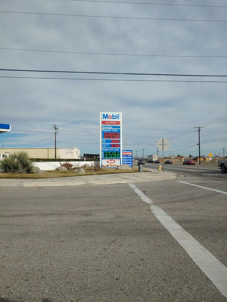 Nearest Mobil Gas Station >> Mobil Gas Station Gas Stations 11254 I Ave Hesperia Ca