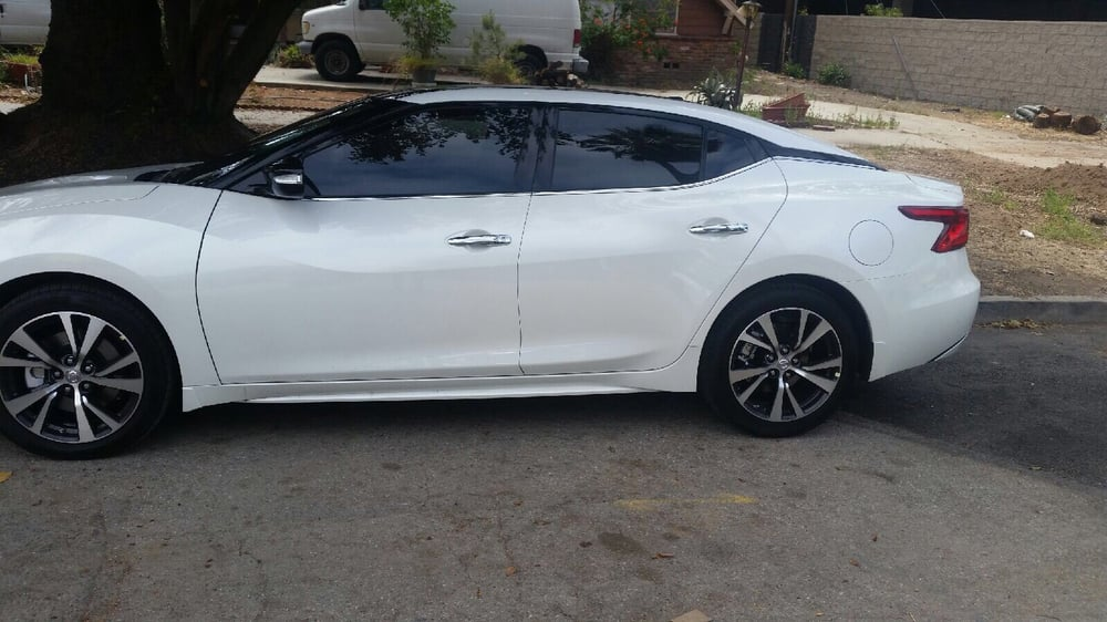 2016 nissan maxima 5 back and 35 front yelp for 0 percent window tint