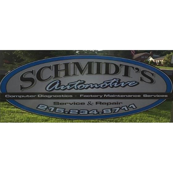 Schmidt's Automotive: 115 Walnut St, Green Lane, PA