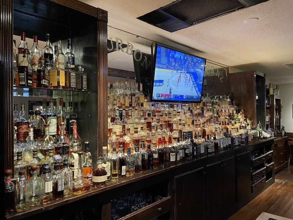 Bourbon & Burnz: 13089 Ocean Hwy, Pawleys Island, SC
