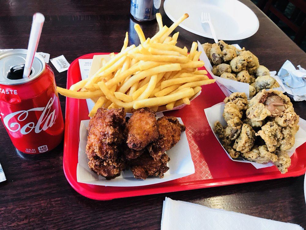 Miller's Chicken: 235 W State St, Athens, OH