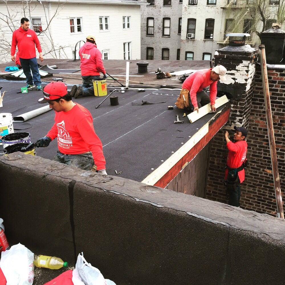 Flat Roofing Company In Bronx Nyc Royal Renovators Inc