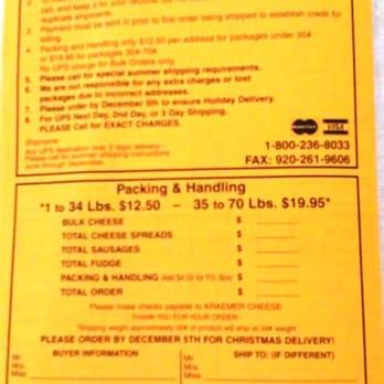 Kraemer Wisconsin Cheese 14 Photos Cheese Shops 1173 N 4th