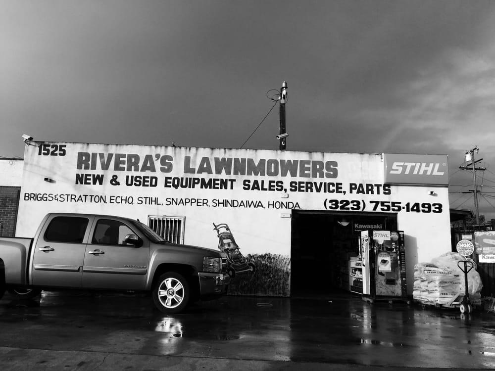 Rivera's Lawn Mower Shop: 1525 W El Segundo Blvd, Gardena, CA