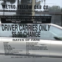 Photo Of Friendly Cab Oakland Ca United States Rates They Also