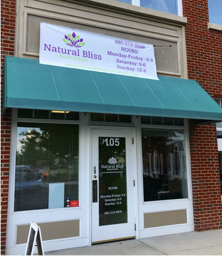 Natural Bliss Body Studio: 4351 Main St, Harrisburg, NC
