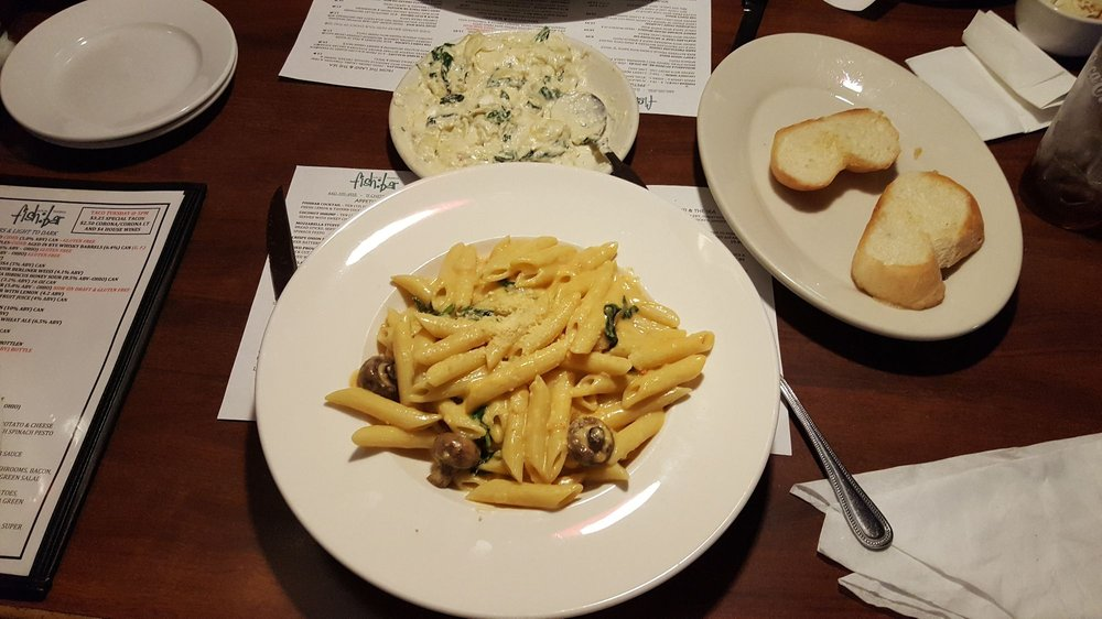 Food from Local Tavern