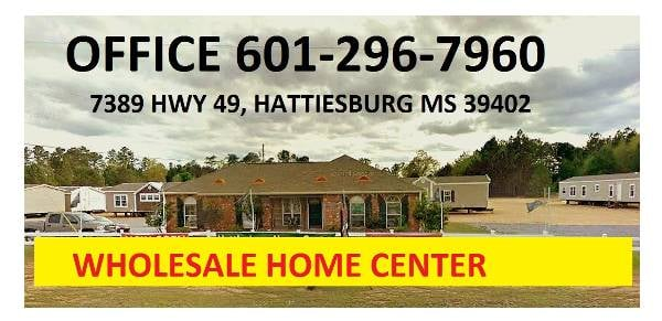 Hattiesburg ms premier mobile homes repo and new yelp for Home builders in hattiesburg ms