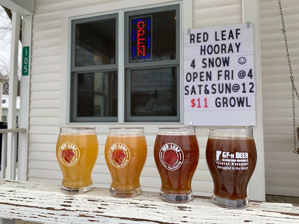 Red Leaf Gluten-Free Brewing: 105 Main St, SMUGLRS NTCH, VT