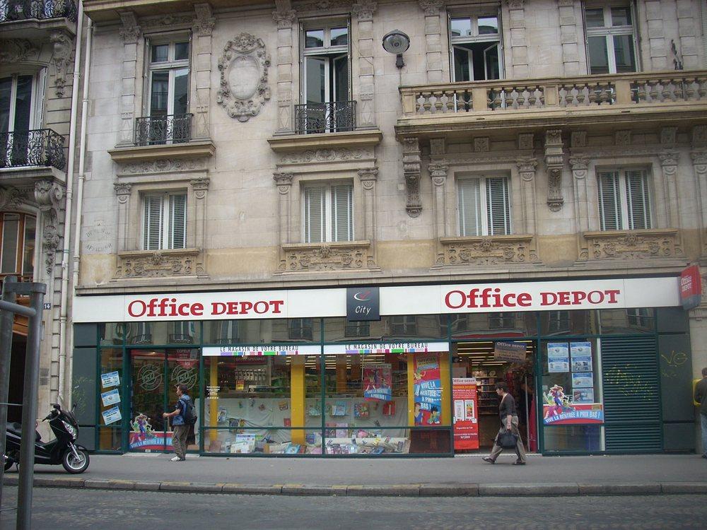 Office depot material de oficina 10 rue de la for Oficina depot