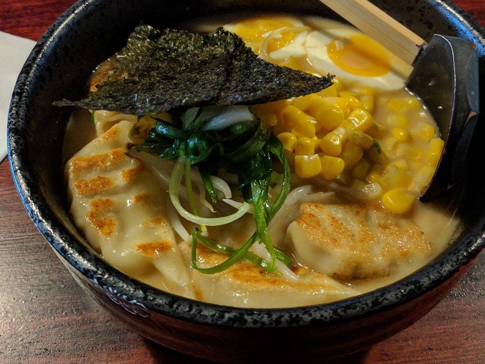 Food from Tatsumaki Ramen & Lounge