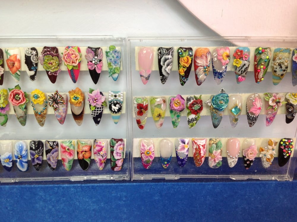 Crystal Nails: 354 Broadway, Bayonne, NJ