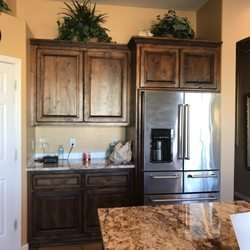 Photo Of Furniture Ranch   Phoenix, AZ, United States. Custom Refrigerator  Surround