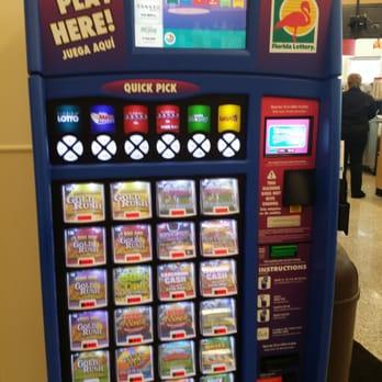 florida lottery machine