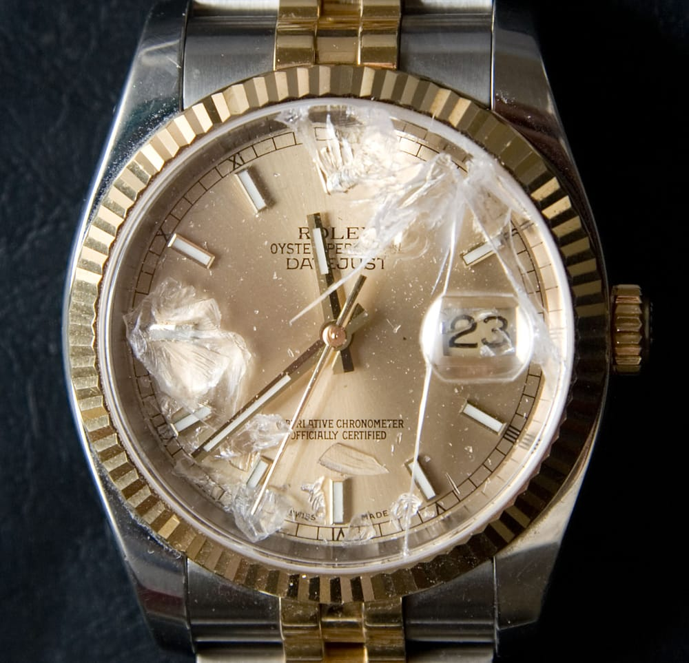 This Is My Broken Old Crummy Rolex As I Brought It In Yelp