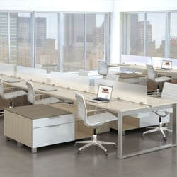 Photo Of Castle Office Furniture   Los Angeles, CA, United States. Open  Desking