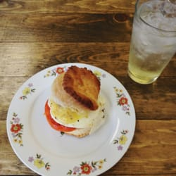 Photo Of Lemon Poppy Kitchen   Los Angeles, CA, United States. Biscuit  Sandwich