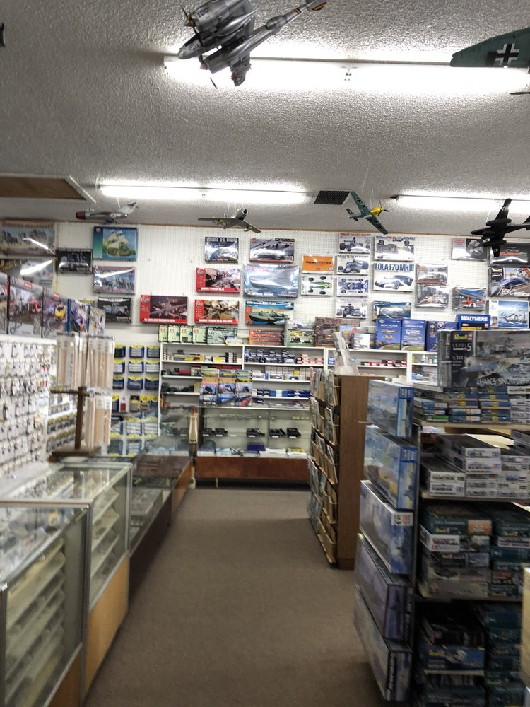Hobbies Unlimited: 937 Manor Blvd, San Leandro, CA